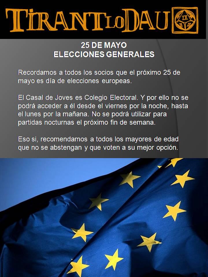 25 de Mayo, Elecciones europeas. Eleccioneseuropeas_zps7827a5c7