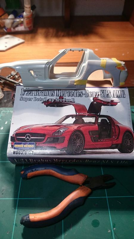 MB SLS Gullwing AMG BRABUS transkit hobby dessign 1_zpszwycm5y5