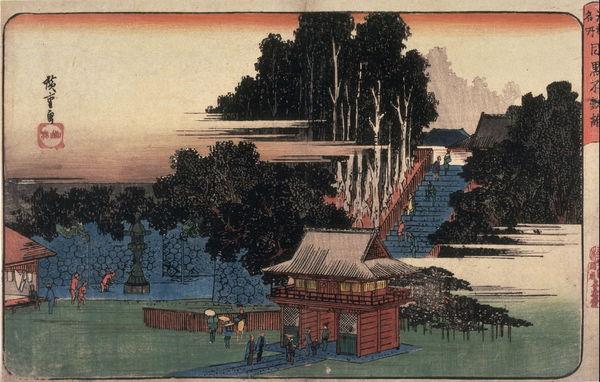 [Du lịch][Tin tức] 32 Ngôi chùa và Đền thờ ở Tokyo 9-1meguro-fudo-ukiyoe-1182_zpsa0c7ce32