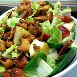 [Recipe] Salad Hạt điều, Lê và Nho cà ri Curriedcashewsalad_zps5392752a