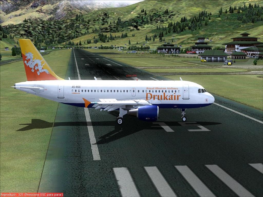 """Airbus A319 Drukair """"Wilco"""" Fs92014-03-2620-44-09-63_zps8bea552f"""
