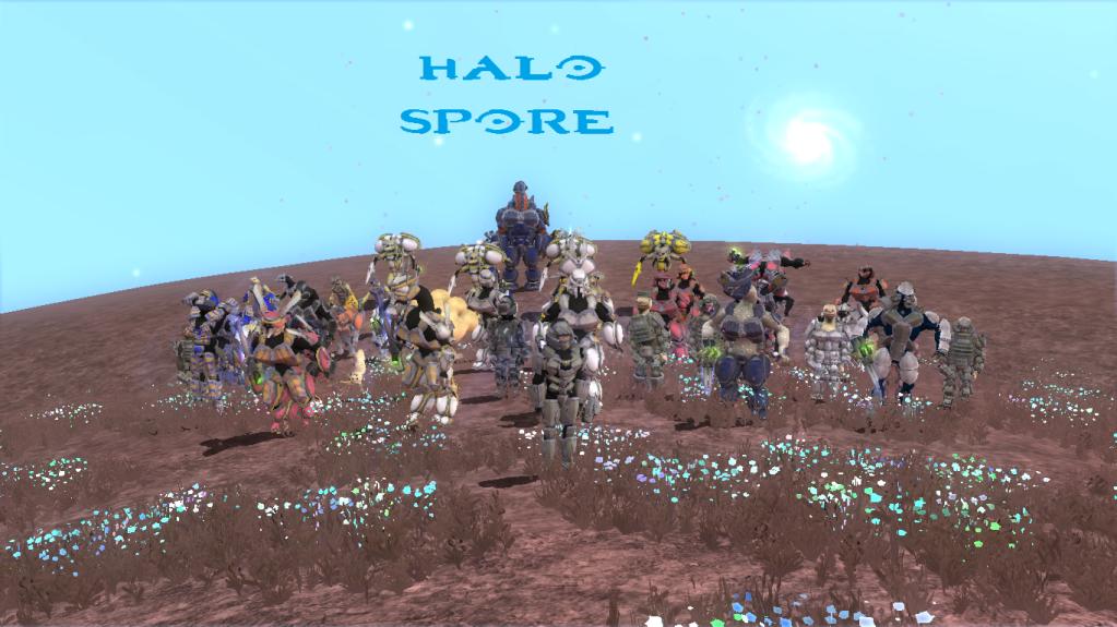 Pack Creaciones de Halo, Elites,Grunts,UNSC,Rangos y mas. HaloSpore_zpsf9acf1f1