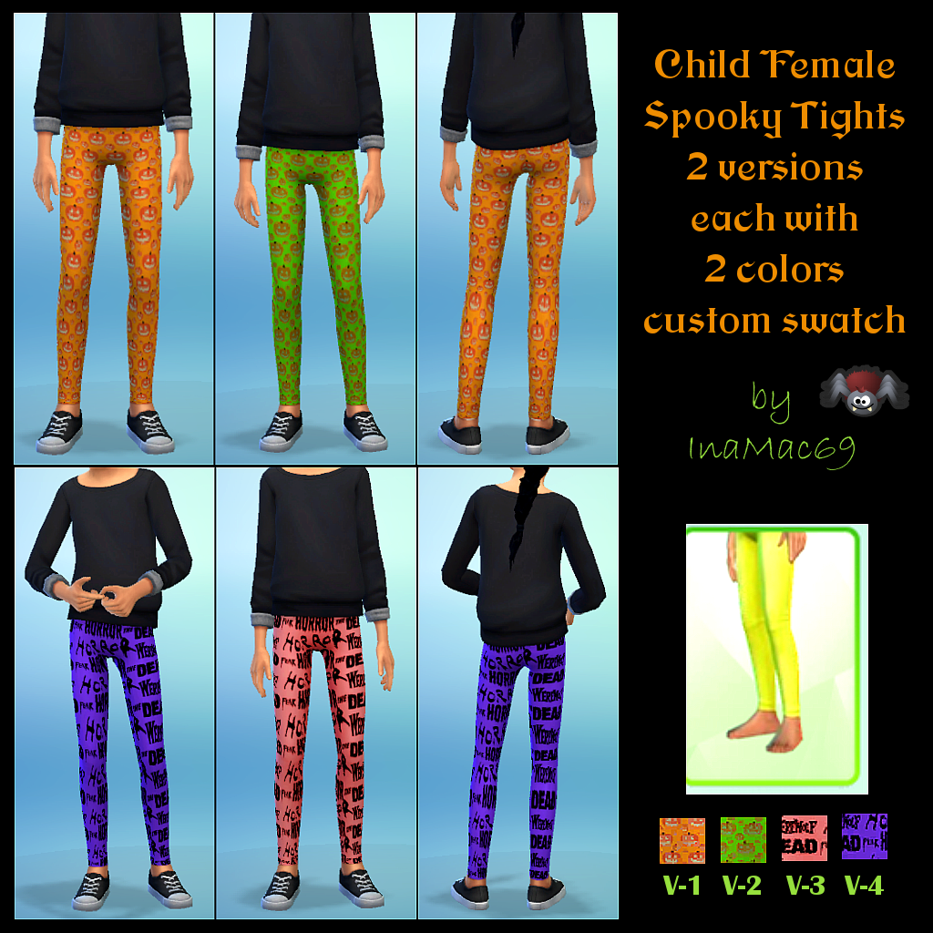 Child Female Spooky Tights by InaMac69 Spookytights_zpsace6f332