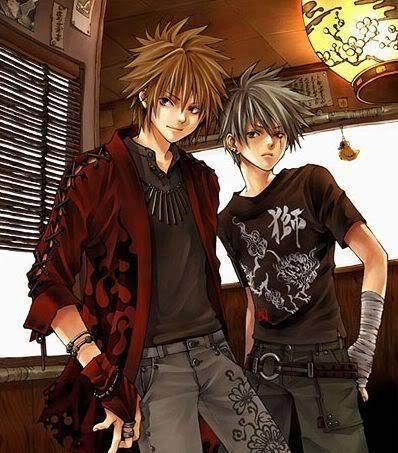صور أنمي تعبر عن الصداقة Animeboys