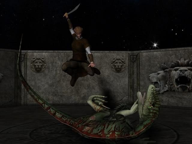 Dinoworld Scarface_fight