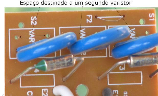 Cantinho da Eletrônica  Clamperespaodosegundovaristor