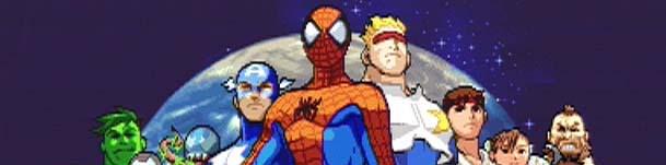 MARVEL VS CAPCOM CLASH OF SUPERHEROES Player Select Theme MP3 Marvel