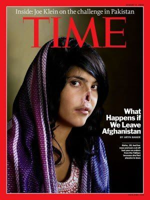 Aisha, the mutilated Afghan girl featured on TIME cover, gets new nose 1013time