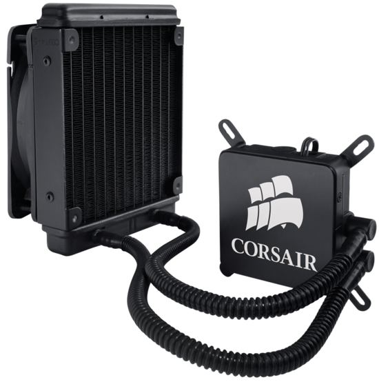 Hydro H60 - more water coolers from CorsairCooling  H60_gw_viewc
