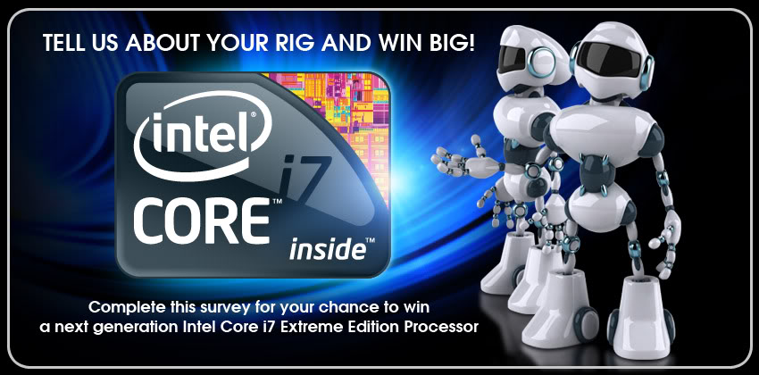 Win a next generation Intel Core i7 Extreme Edition Processor Header