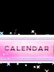 [Nav Bar] Sparkly Pink Nav Bar Buttons Clendarpink