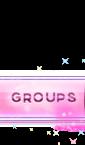 [Nav Bar] Sparkly Pink Nav Bar Buttons Grupa