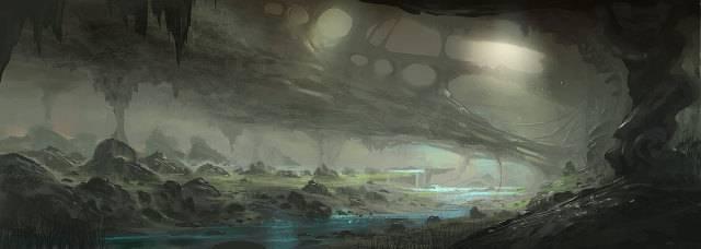 Osiris' Crib 640x228_300_Underworld_2d_landscape_environment_concept_art_cave_picture_image_digital_art_zps055e856f