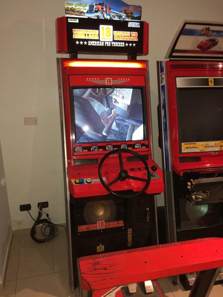 [VDS] Lupin 3 Outrun 2 Virtua Cop 3 Crazy Taxi 18W Cabinets 18Wheeler_1_zpsd7e9c7a6