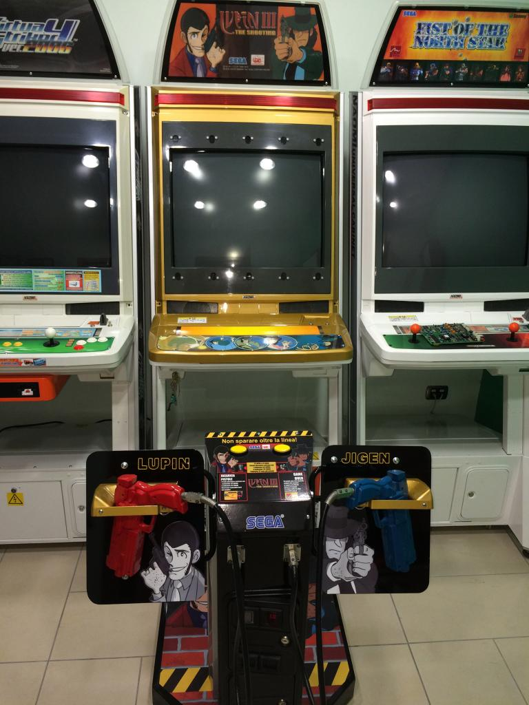 [VDS] Lupin 3 Outrun 2 Virtua Cop 3 Crazy Taxi 18W Cabinets LupinIII_1_zps023a234b