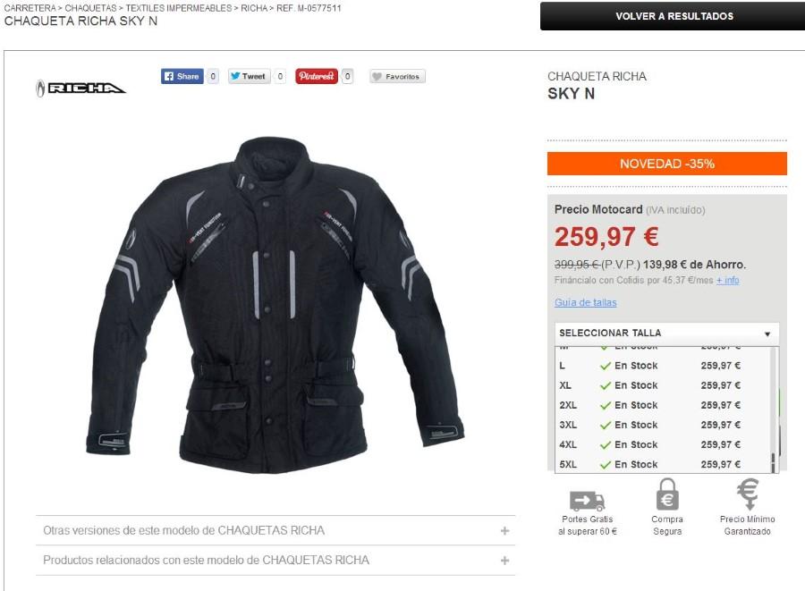 Mi nueva chaqueta. ¡Ya era hora! RichaCustom_zps5bf79d91