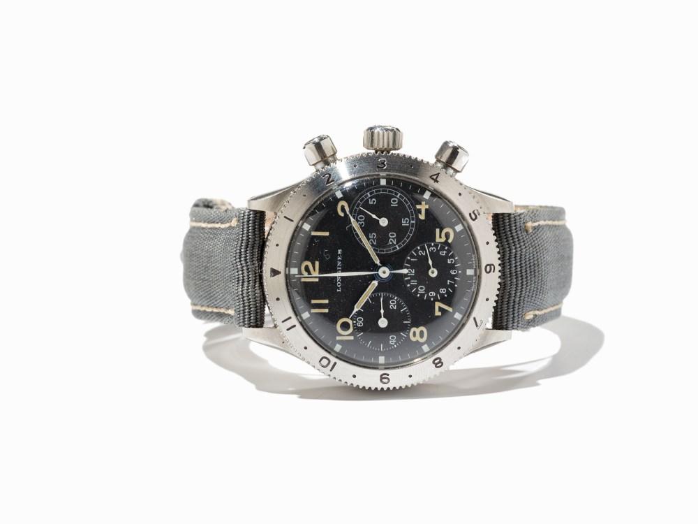 Longines type aviation Chronographes très rares, avec et sans lunette, compteur des minutes et aiguilles différentes des deux versions 153006-0088-h_zpsdb682aa4