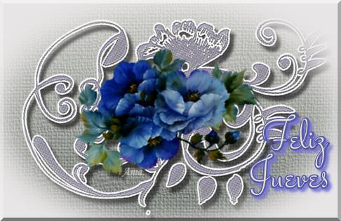 Flores Azules sobre Encaje Grisaceo Jueves_zpstoubjgjs