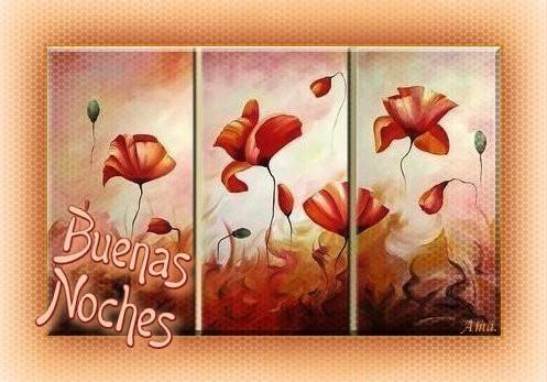 Flores con Textura Metal  Noches_zps60mtjfws