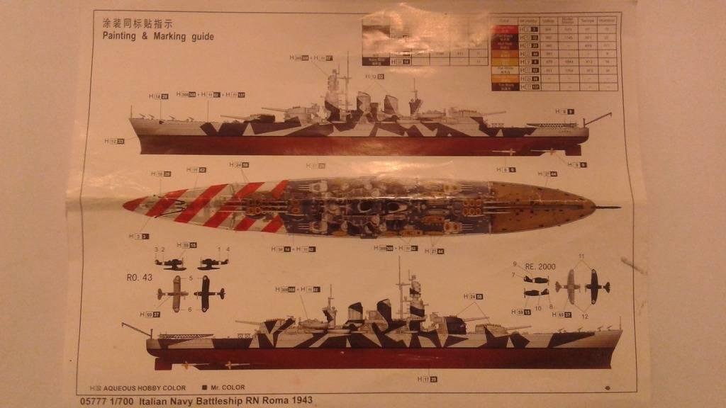 talian Navy Battleship RN Roma 1943- Escale 1/700 20170414_185806_zpss7mdihbw
