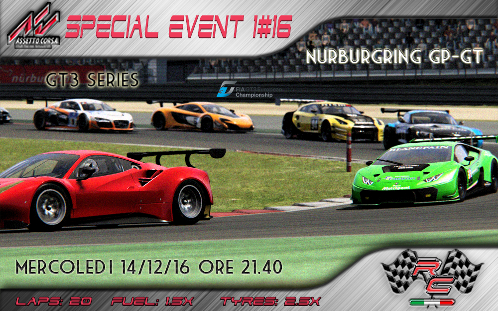 [AC] SPECIAL EVENT - Nurburgring GP - GT3 ALL - Mercoledi 14/12 ore 21.40 Gt3%20topic_zpsvpwtwmvl