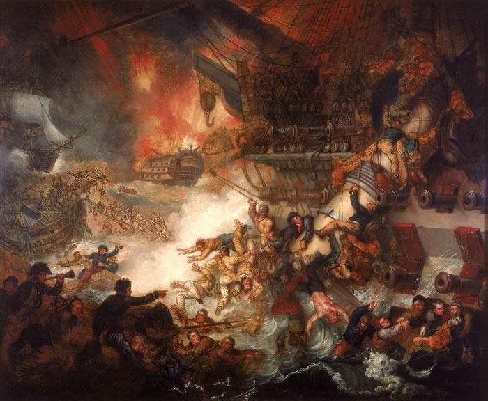 La bataille d'Aboukir. 1798 133%20Le%20Spartiate%20agrave%20Aboukir._zpsuiefulw2