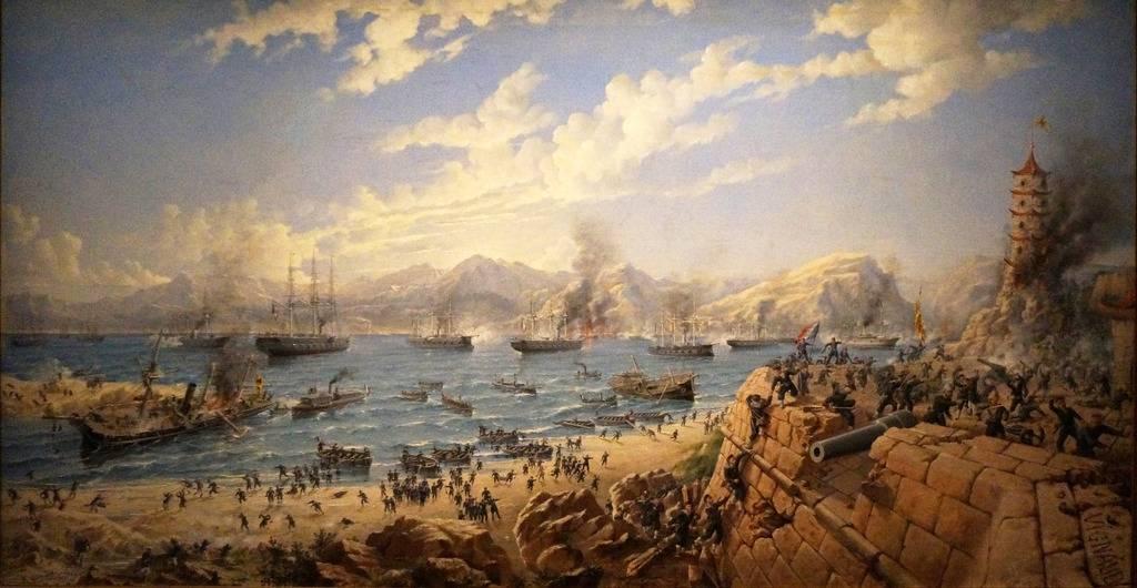 17/18 JANVIER 1941 Koh-Chang; une victoire navale française  - Page 2 Bataille%20Fou%20Tcheacuteou%201884_zpsrhqczxiu