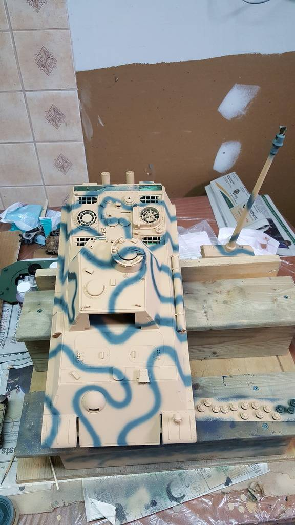My Panther G. First try at painting. 20160724_124608_zpsv9zsnhyr