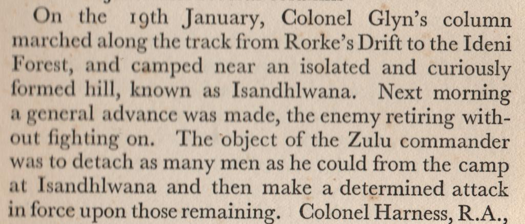 Why did Lord Chelmsford return to Isandlwana on the 22nd Jan Memoirsoffieldmarshallordgrenfell_zps071d0505