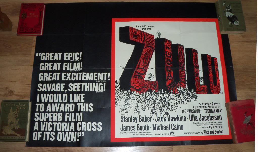 Lost Classics: Zulu - Behind the Scenes. by George Smith Zuluposter1_zps2df6b483