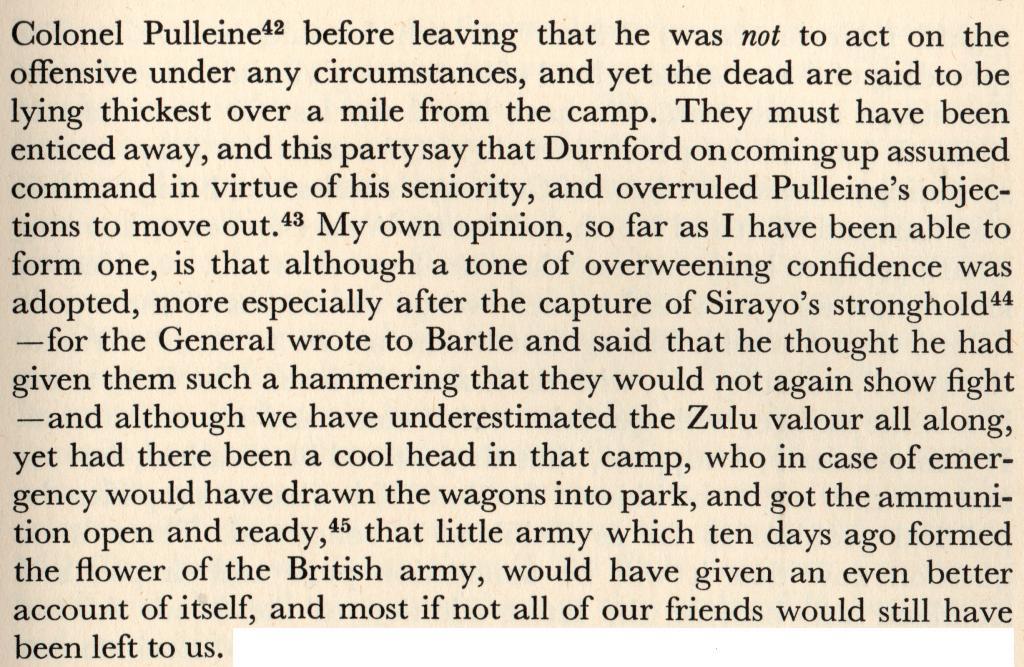 Why did Lord Chelmsford return to Isandlwana on the 22nd Jan Merriman2_zps04f01f57