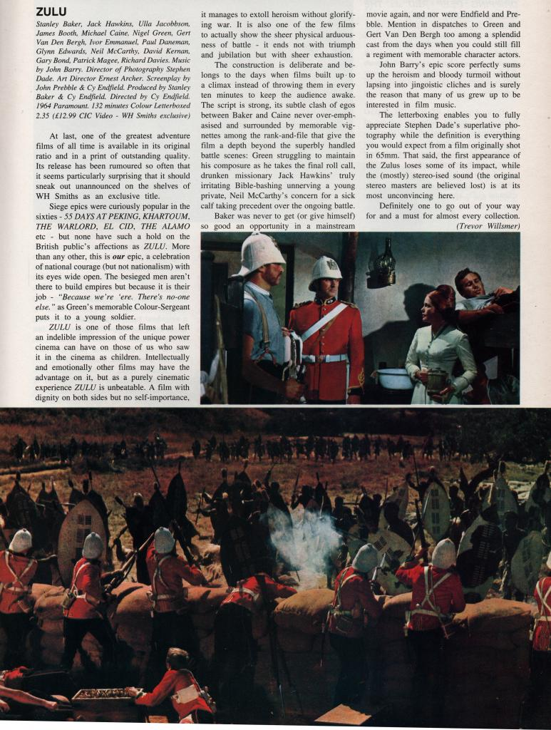 Lost Classics: Zulu - Behind the Scenes. by George Smith Moviecollector2_zpsc24a105b