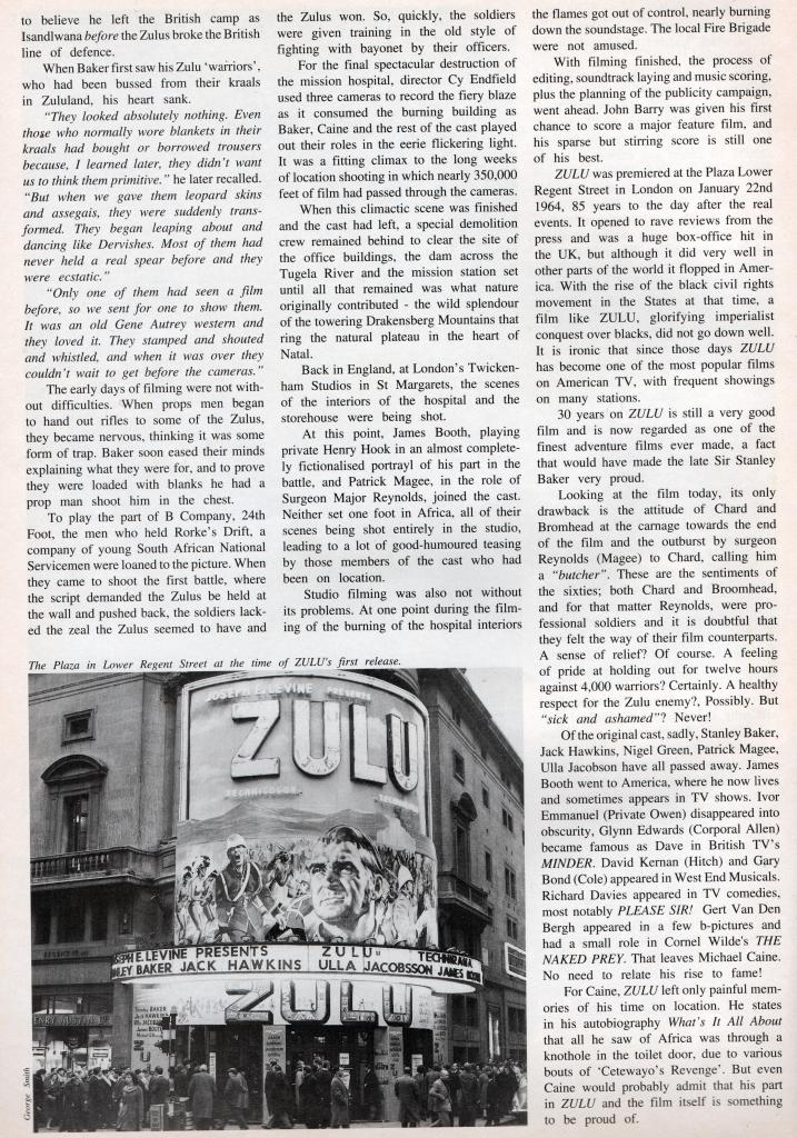 Lost Classics: Zulu - Behind the Scenes. by George Smith Moviecollector6_zps195adc19