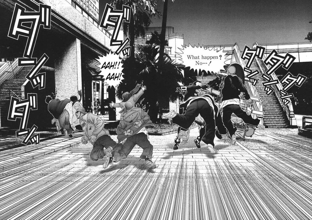 Grupos de GC en el manga GantZ%20v14%20c159%20p074-075