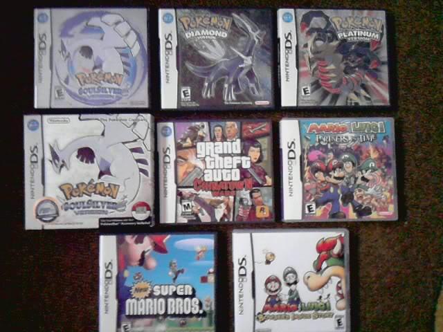 Nintendo - [Vendo] Jogos de nintendo DS P030910_1537