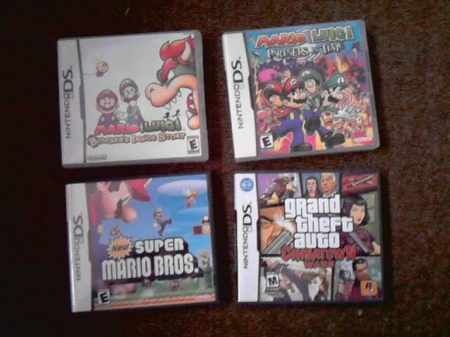 Nintendo - [Vendo] Jogos de nintendo DS P030910_1539