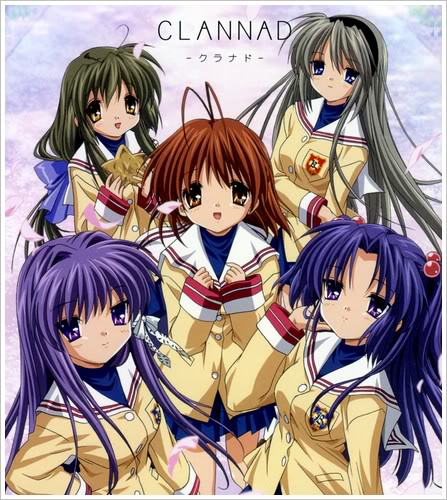 Clannad e Clannad~after story Clannad-op-ed