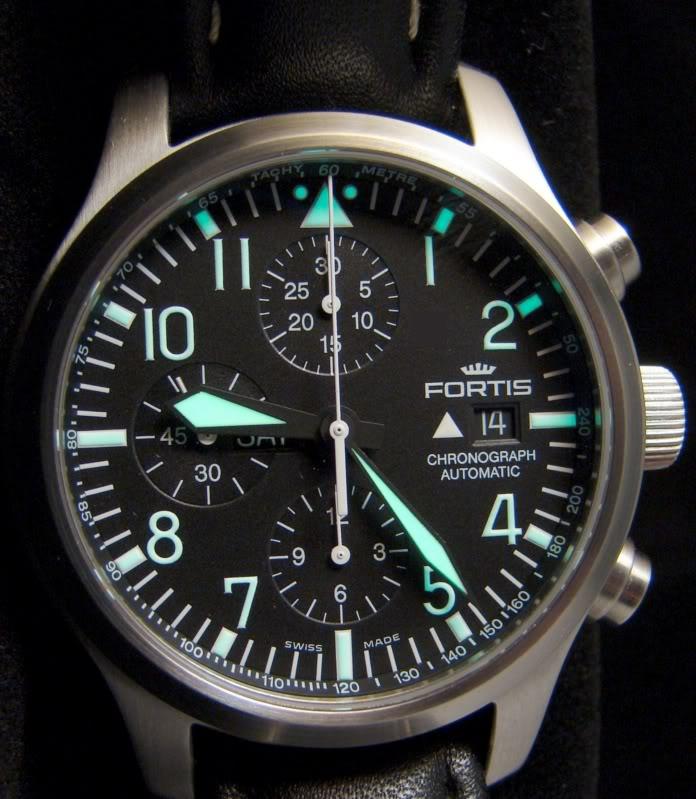 FS: Fortis B42 Chronograph on SS DSC04009-1