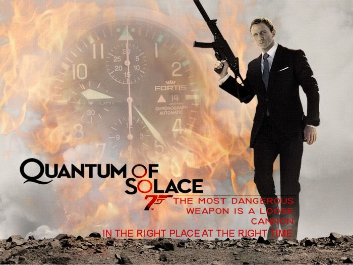 Fortis Watch Company Fortis-QuantumofSolace
