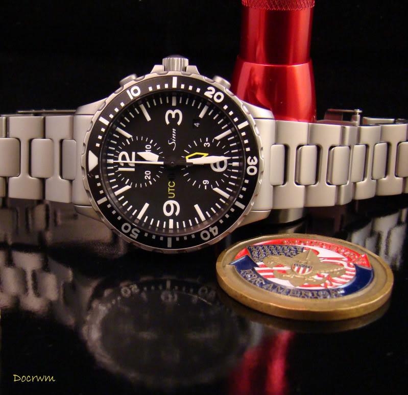Watch-U-Wearing 8/10/10 NewBraceletwithBSAcoin