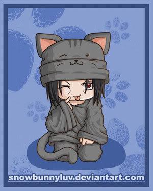 Fotos de los personajes de naruto!! Itachi_Neko_by_snowbunnyluv