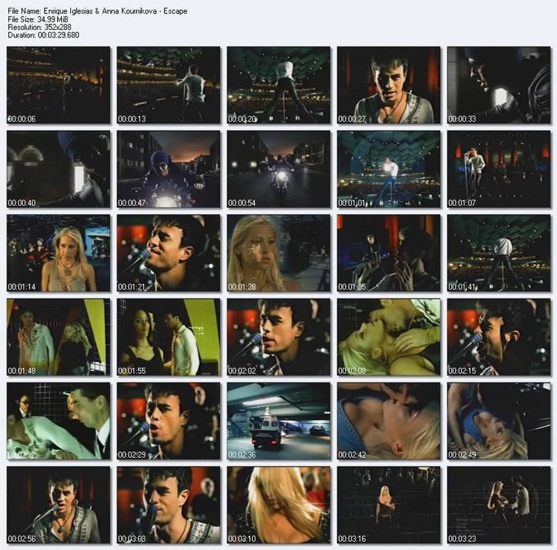Enrique Iglesias ft Anna Kournikova - Escape EnriqueIglesiasAnnaKournikova-Escap