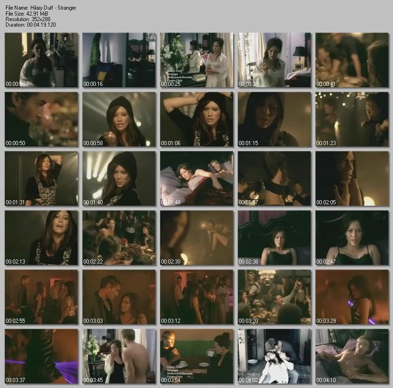 Pics from music videos/Снимки от клипове HilaryDuff-Stranger.mpg