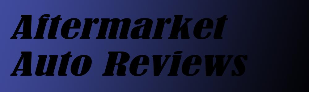 Aftermarket Auto Parts Forum
