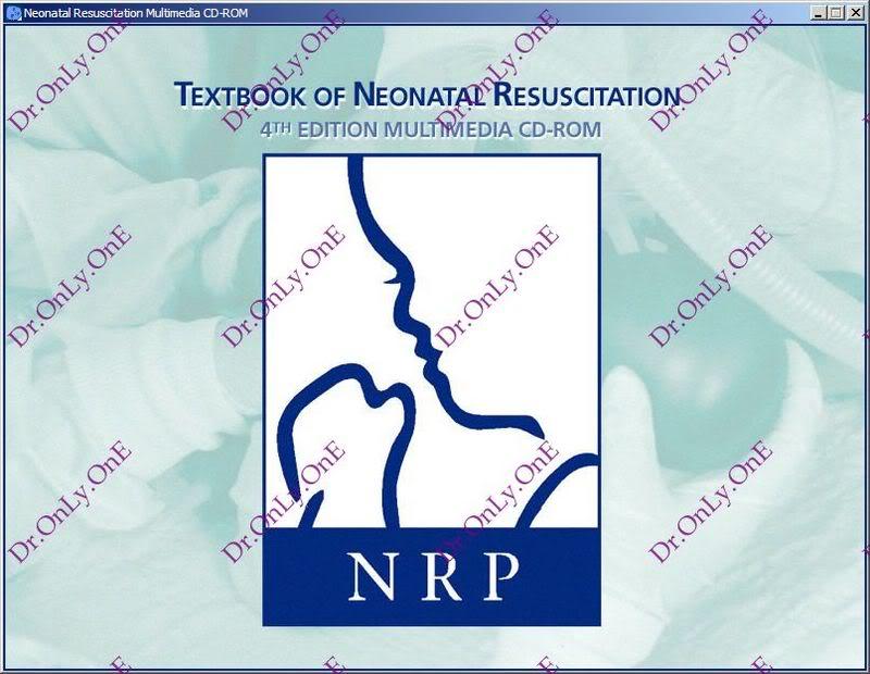 كتاب واسطوانة الإنعاش للرضع Textbook of Neonatal Resuscitation - Book with CD-ROM NRP_1
