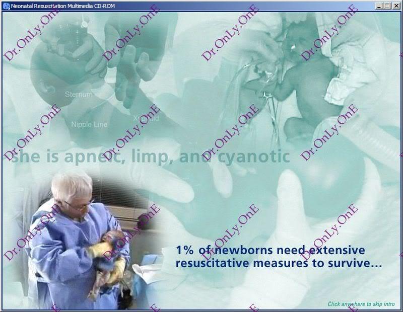 كتاب واسطوانة الإنعاش للرضع Textbook of Neonatal Resuscitation - Book with CD-ROM NRP_2
