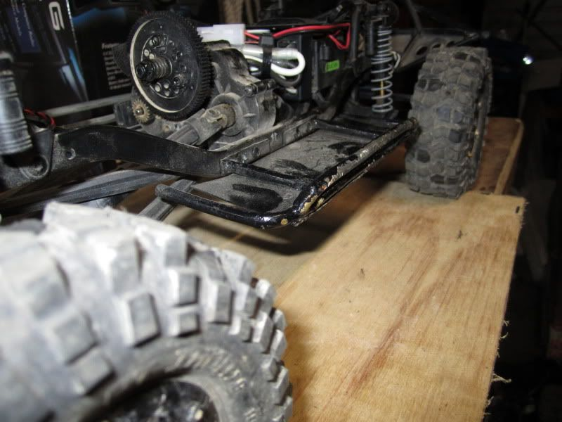 my suzuki scx10 now with slides and cage IMG_3358