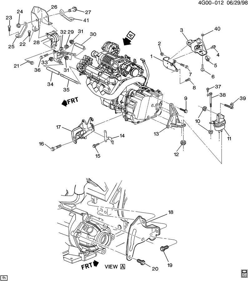 FAQ: Engine/Transmission Motor Mounts - Page 7 1997-98_SC