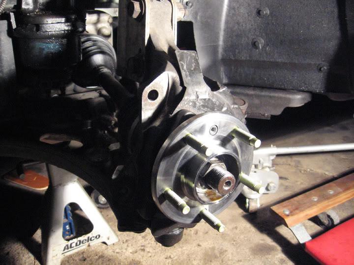 Write-Up: Spindle / Wheel Bearing / Hub Replacement HUBinstall10