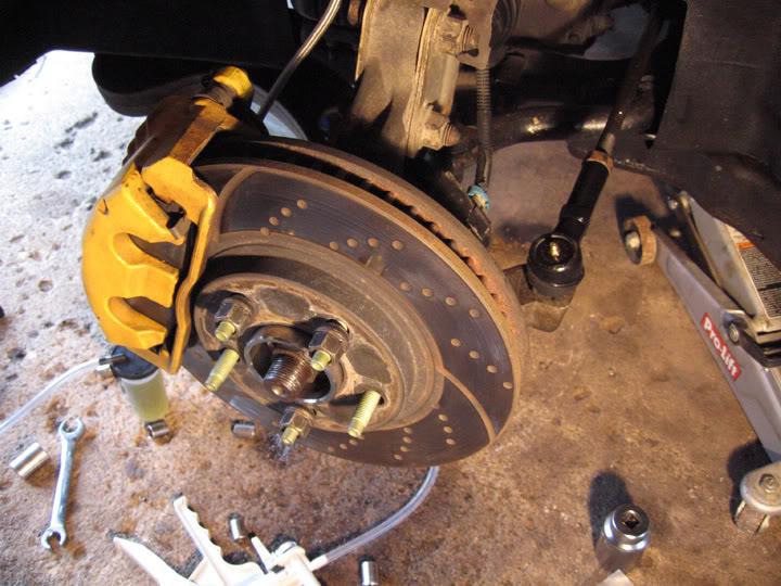 Write-Up: Spindle / Wheel Bearing / Hub Replacement HUBinstall11